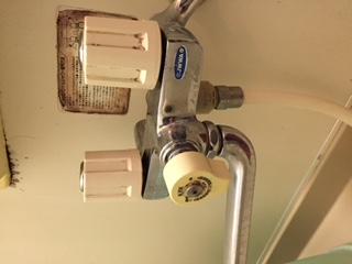 水道修理 札幌市 清田区 清田 浴室蛇口の水漏れ修理 ¥4,580税込