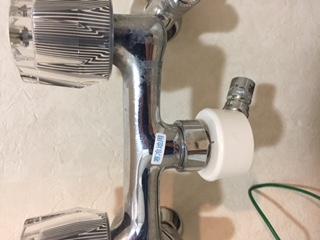 水道修理|札幌市 東区 東苗穂|洗濯蛇口からの水漏れ修理 ¥3,500税込