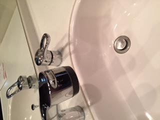 水道修理|札幌市 豊平区 平岸|洗面混合栓 水漏れ修理 ¥16,500税込