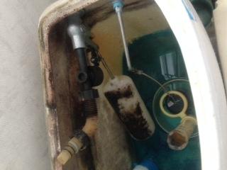 水道修理|札幌市 白石区 川北|トイレの水漏れ修理 ¥14,040税込