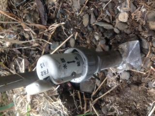 水道修理|札幌市 北区 屯田|元栓の故障修理 ¥14,040税込