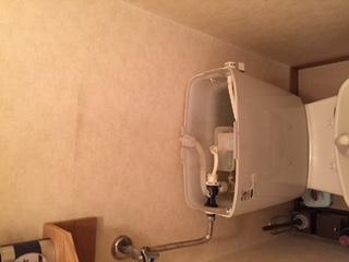 水道修理|札幌市 東区 北16条東|トイレの水漏れ修理 ¥14,040税込