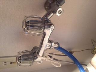 水道修理|札幌市 北区 北12条西|洗濯蛇口の水漏れ修理 ¥3,500税込