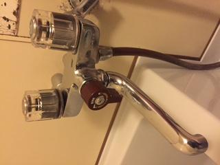 水道修理 札幌市 西区 八軒東 浴室蛇口の水漏れ修理 ¥3,500税込