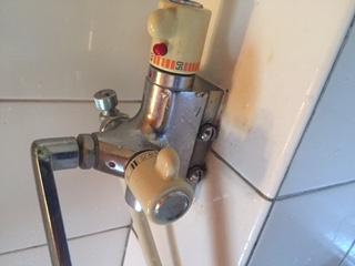 水道修理|札幌市 南区 北の沢|浴室蛇口の水漏れ修理 ¥16,200税込