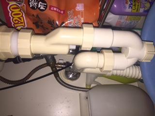 水道修理|札幌市 厚別区 厚別北|洗面排水のつまり修理 ¥7,560税込