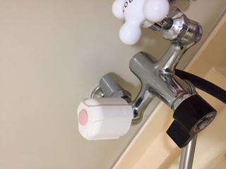 水道修理|札幌市 西区 八軒東|浴室蛇口の水漏れ修理 ¥3,500税込