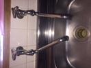 水道修理|札幌市 豊平区 西岡|台所蛇口の水漏れ修理 ¥3,500税込