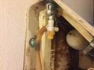 水道修理|札幌市 白石区 本通|トイレの水漏れ修理 ¥14,040税込
